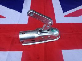 NEW 50mm LOCKING BALL HITCH TO REPLACE NATO HITCH ON 50mm DRAW BAR